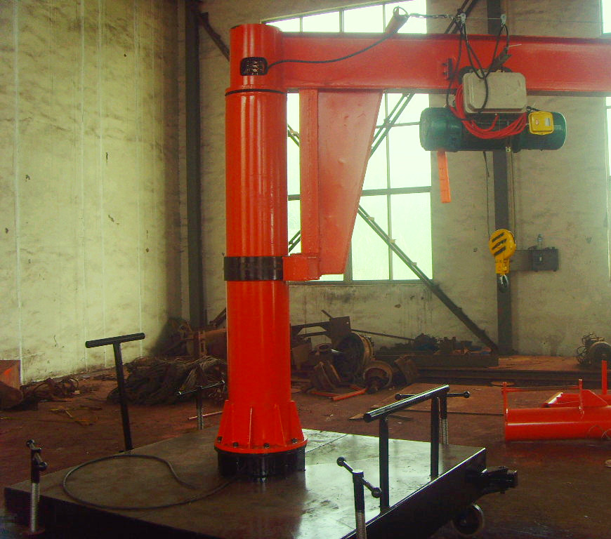 河南省桔子起重机械有限公司生产悬的臂吊质量值得信赖
