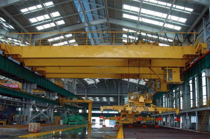 雄安新区安装制作下旋转伸缩挂梁电磁桥式起重机
