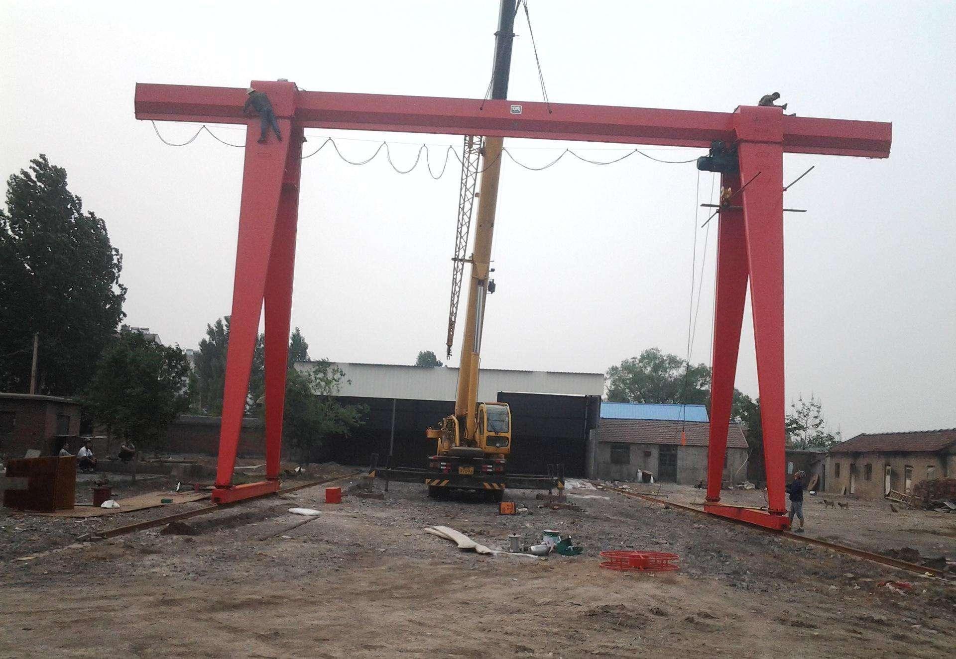 武汉MH型电动葫芦门式起重机安装维修