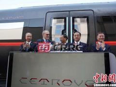 中国中车在柏林国际轨道交通技术展发布新一代碳纤维地铁车辆