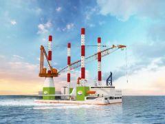 七〇八所与马尾造船签订自升式海上风电大部件更换运维平台技术开发合同!