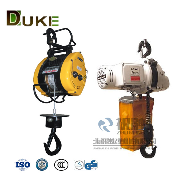 DUKE电动葫芦-台湾duke电动葫芦-duke吊块电动葫芦