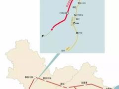 深圳-惠州-汕尾铁路最新进展 未来打通东南沿海350公里时速通道