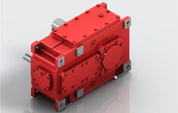 H系列齿轮箱减速机,硬齿面减速齿轮箱厂,迈传平行轴齿轮箱型号