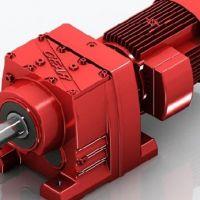 R同轴式-斜齿轮减速电机,迈传R系列齿轮减速机价格