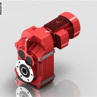斜齿轮硬齿面减速机,平行轴减速机 F系列平行轴-斜齿轮减速机