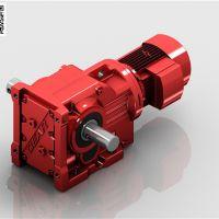 K系列斜齿轮锥齿轮减速电机|螺旋锥齿轮减速机|迈传减速机厂家