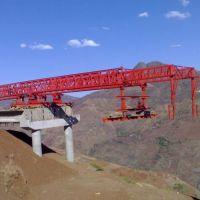 西安200T架桥机施工现场