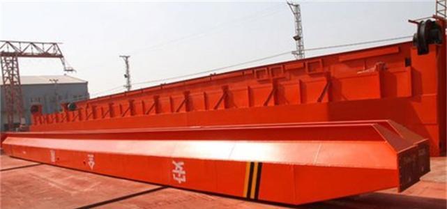 天津起重 16T单梁起重机施工现场