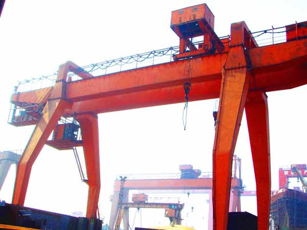重庆江北区-MZ型型双梁抓斗门式起重机
