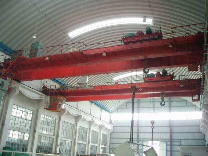苏州张家港桥门式起重机搬迁改造