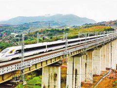 """重庆""""米""""字型高铁网建设全面提速 至2022年将开建6个铁路项目"""