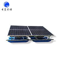 河道湖泊湿地太阳能解层式曝气机 古蓝曝气机
