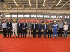 镇江船厂开工建造韩国4650DWT杂货船