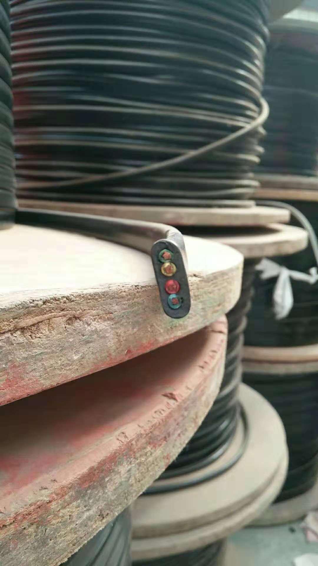 行车专用电缆扁黑电缆耐腐蚀YFFB4*1.5优质生产厂家