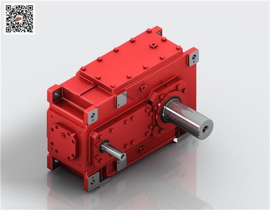 迈传齿轮箱,H3SH5-C平行轴减速箱,H平行工业齿轮箱价格