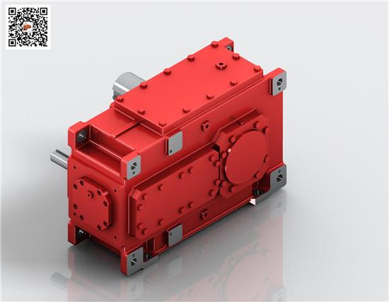 迈传齿轮箱减速机,H3SH5平行轴减速齿轮箱,H工业齿轮箱