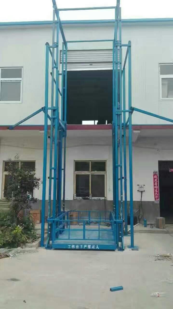 苏州张家港导轨货梯专业非标订制