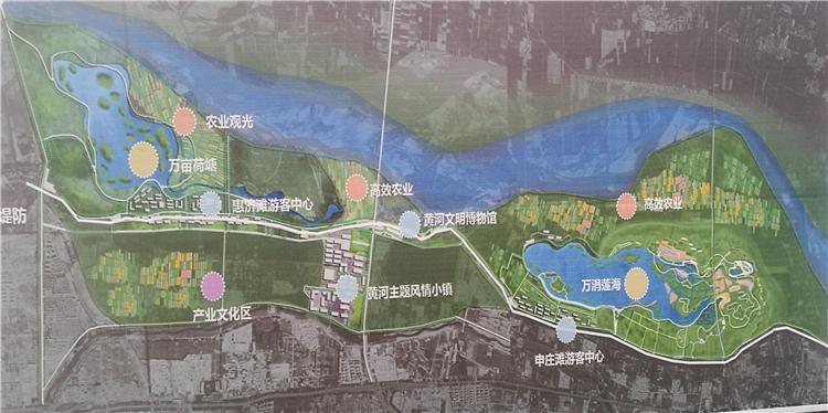 郑州黄河生态文化公园怎么建? 堤防外拟规划黄河文明博物馆