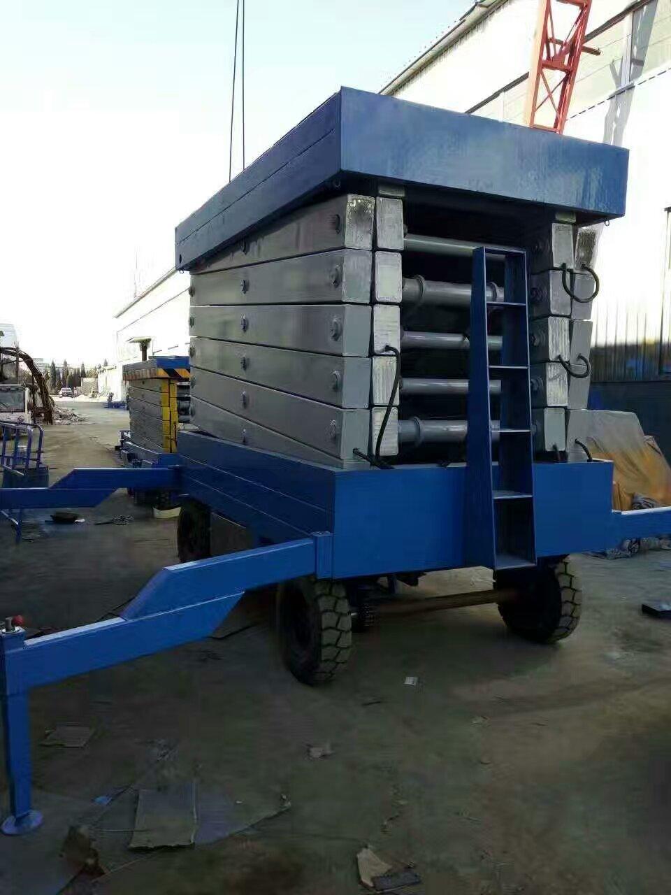 河南升降平台移动液压货梯系统批发价格