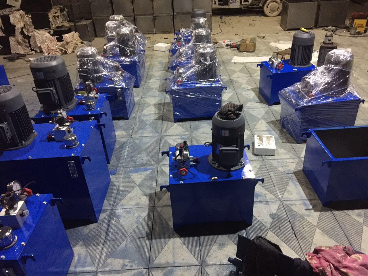 河南力鼎信专业生产液压升降货梯配件液压泵站液压油缸型号