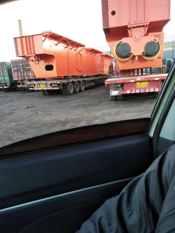 河南豫新铸造起重机发往河北某钢厂