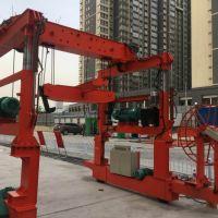 河南豫新隧道专用起重机使用现场