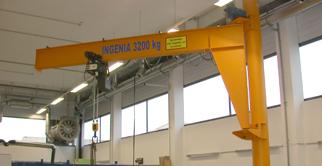 苏州张家港起重机-立柱式悬臂吊