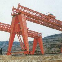 北京起重机-工程用双主梁门式起重机使用现场