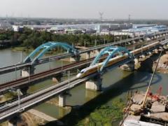 青盐铁路连云港至盐城段完成全线拉通试验 未来将通过沪通铁路直达上海