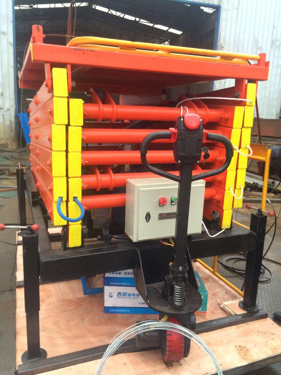 河南单柱双柱铝合金式升降机 电动液压动剪叉升降平台