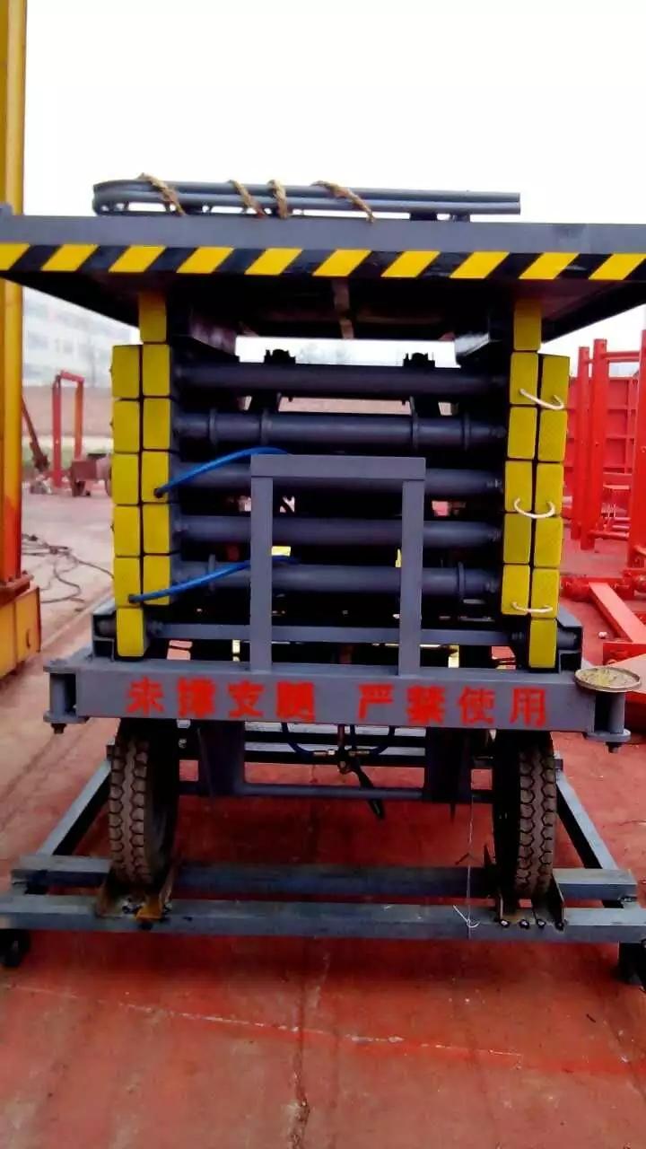 河南四轮10米移动式升降机液压剪叉式升降平台小型电动举升机