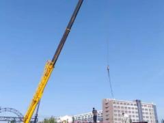 柳工QY25N起重机助力呼和浩特北二环建设