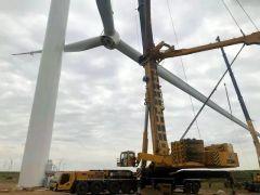 燃到爆!為什么說風電場快被徐工QAY1200A承包了?