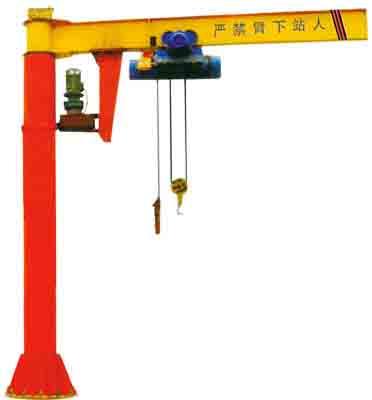 濟寧生產銷售-BZD型定柱式旋臂起重機