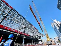 京張高鐵清河站主體上午封頂 北京北部增綜合交通樞紐!