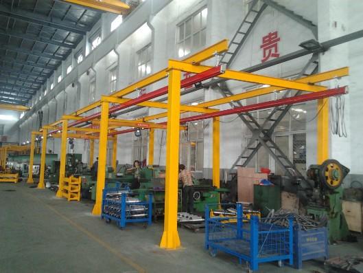 南京安装kbk轻小型起重机