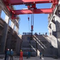 百色水电站桥式起重机