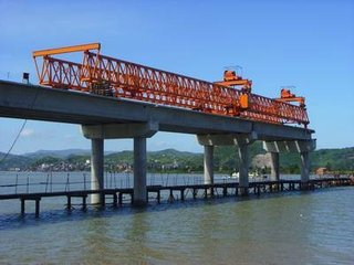 西藏工程起重机架桥机