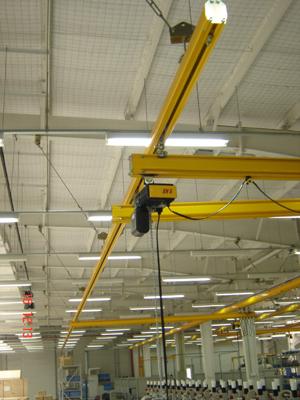 吉林桥式起重机欧式单梁轻轨吊行业精品