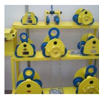 重庆起重机厂家销售葫芦运行跑车装置
