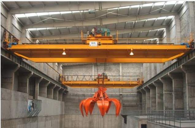 天津起重机生产销售抓斗桥式起重机