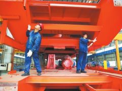 洛阳卡瑞新型欧式起重机出口印度等多个国家