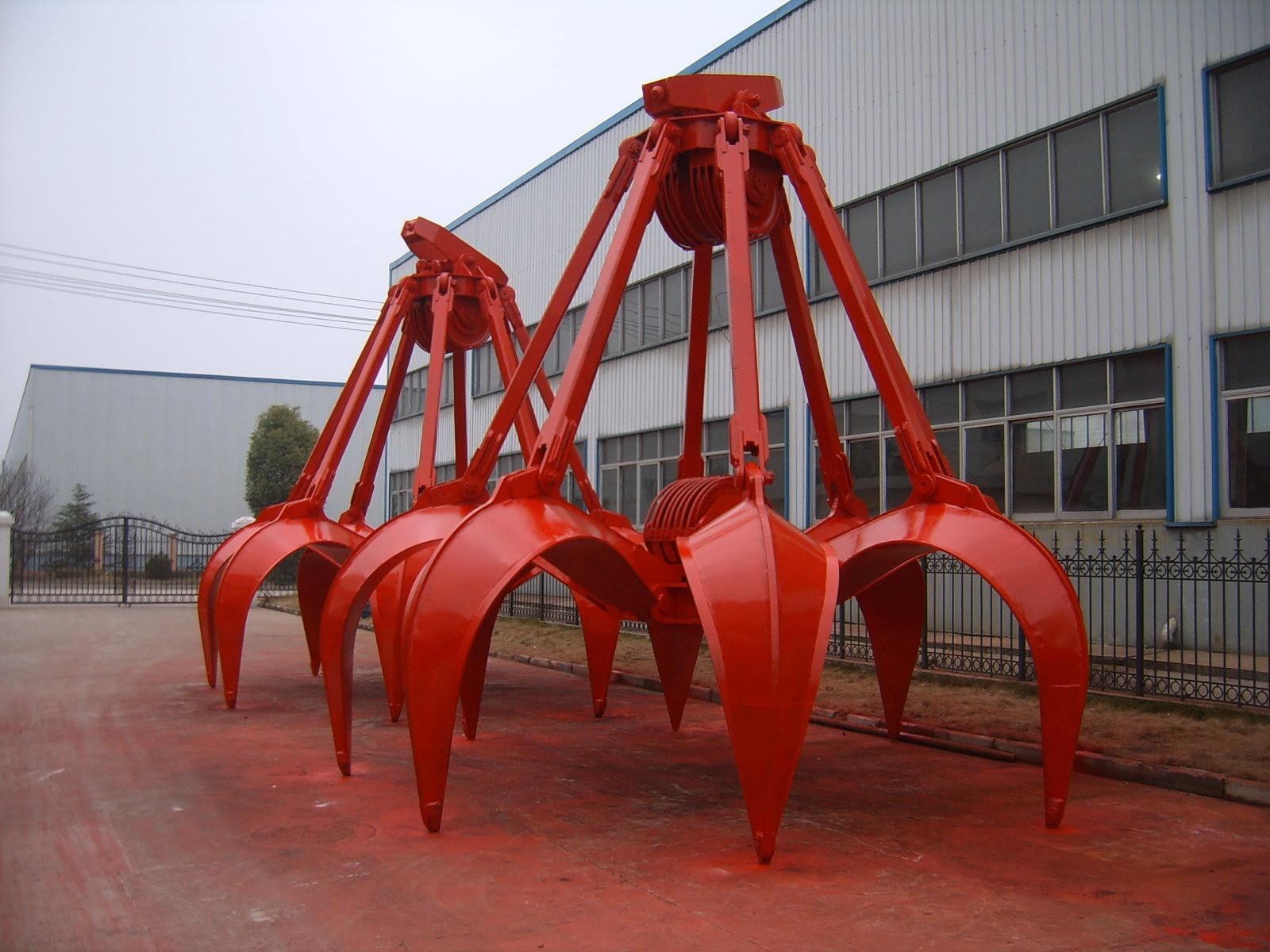 泰州起重机生产起重吊具抓斗