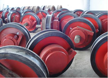 西安天车生产车轮组