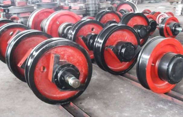 西安起重机厂家生产车轮组