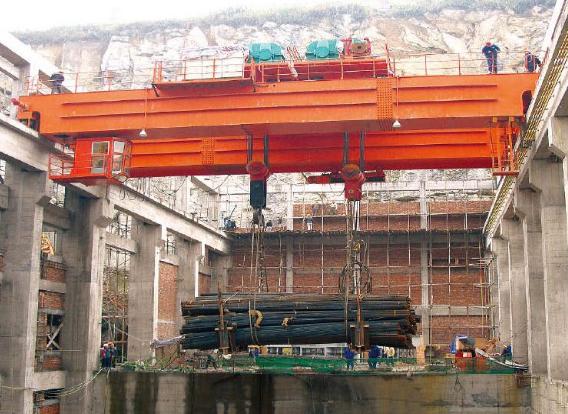 宜昌水电站用桥式起重机大全
