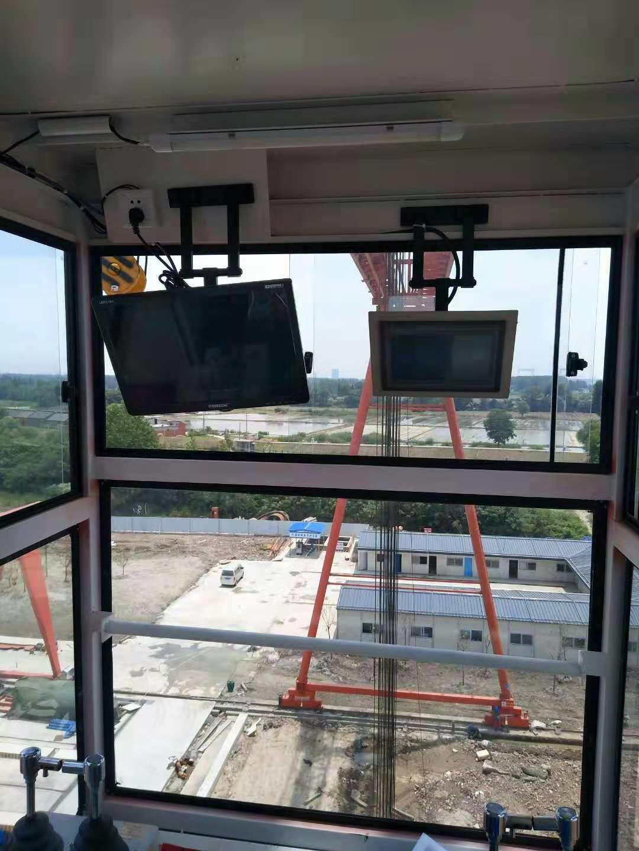 起重机安全监控系统安装现场