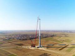 看徐工风电成套化吊装设备引爆履带吊市场!