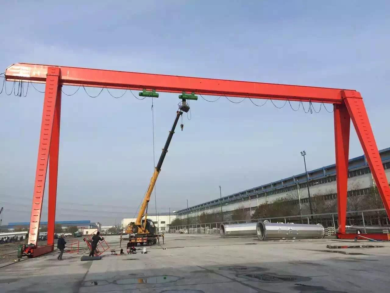 咸阳龙门吊搬迁改造-西安天成重工